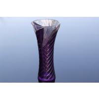 Vaza din cristal colorat