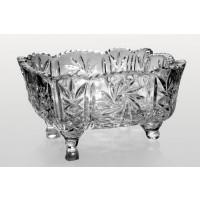 Fructiera patrata 25 cm din cristal de Bohemia - Ingrid - Nr catalog 2252 (Fructiere - Boluri - Platouri)