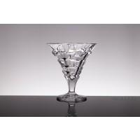 Set 6 cupe inghetata / salata fructe 330 ml cristal Bohemia - Havana - Nr catalog 1478