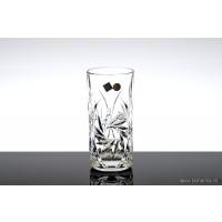 Pahare longdrink 370 ml din cristal Bohemia - INGRID- Nr. catalog 1896