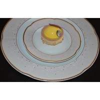 Serviciu de tort 6 persoane - Bolero Jasmine - Nr catalog 2336 (Set Servicii Portelan pentru tort)