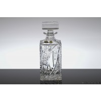 Sticla de whisky din cristal de Bohemia - Thea - Nr catalog 1859 (Sticle si carafe)