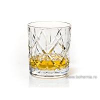 Pahare whisky din cristal de Bohemia - Rombus - Nr catalog 1707