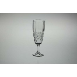 Crystal champagne glasses - Angela Collection