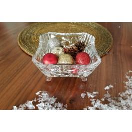 Bol decorat 12 cm din cristal de Bohemia - Ingrid - Nr catalog 2713 (Diverse)