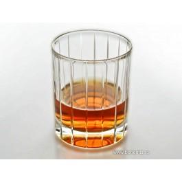 Pahare whisky din cristal de Bohemia - Caren - 741 (Pahare)