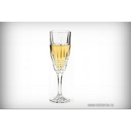 Pahare de sampanie 180 ml din cristal de Bohemia - Monte Carlo - Nr catalog 1855 (Pahare)