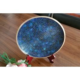 Platou Cloisonne 26 cm - Floral - Nr catalog 2810 (Produse decorative)