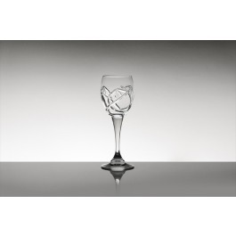 Crystal liqueur glasses - Tulip 1 Collection