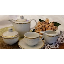 Serviciu de ceai 6 persoane - Amelia - Nr catalog 3275 (Set Servicii Portelan de cafea)