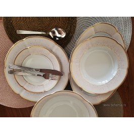 Serviciu de masa 6 persoane 26 piese - Bolero Jasmine - Nr catalog 2861 (Set Servicii Portelan de masa)