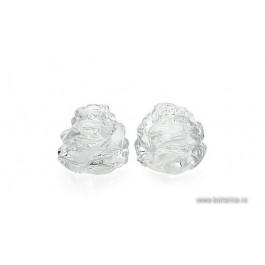 Set 2 solnite din cristal de Bohemia - Trandafir - Nr catalog 2928 (Solnite)