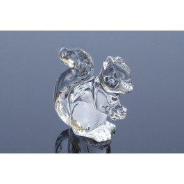 Crystal figurine Squirrel