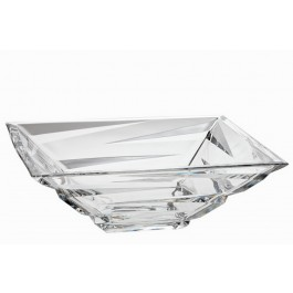 Crystal Bowl Tray Zigzag Collection