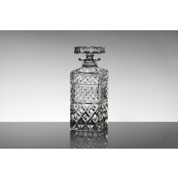 Crystal whisky bottle - Madison Collection