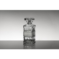 Crystal whisky bottle - Brittany Collection