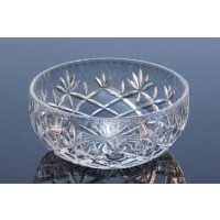 Crystal Bowl Tray Sheffield Collection