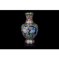 Cloisonne very big vase 40 Cm - VM8