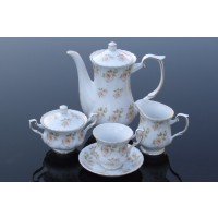 Porcelain coffee set Iwona Collection