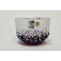 Bol 11 cm din cristal de Bohemia - Hoarfrost - Nr catalog 2998 (Fructiere - Boluri - Platouri)