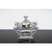 Caseta 12.5 cm din cristal de Bohemia - X-Lady - Nr catalog 1862 (Bomboniere si casete cu capac)