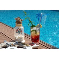 Pahare cocktail / longdrink din cristal de Bohemia - Sheffield - Nr catalog 3138 (Pahare)