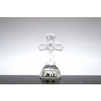 Cruce din cristal de Bohemia - Nr catalog 1696 (Produse decorative)