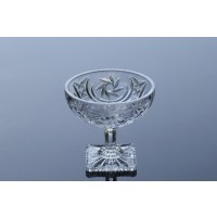 Set of 6 ice cream crystal bowls Majestic Collection