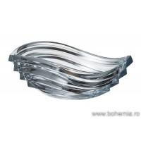 Fructiera 30.5 cm Bohemia cristalit - Wave