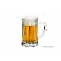 Halba de bere din cristal de Bohemia - Caren - Nr catalog 2968 (Diverse)