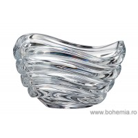 Bol 16.5 cm Cristal Bohemia - Wave - Nr catalog 2432 (Fructiere - Boluri - Platouri)