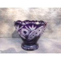 Colored crystal bowl - Catalog No 494