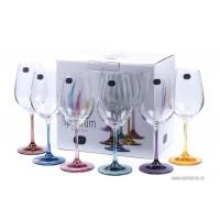 Pahare vin alb/rosu Bohemia Cristalit - Spectrum - Nr catalog 3085 (Pahare)