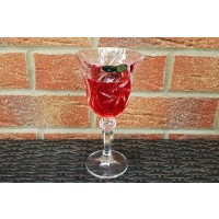 Pahare de vin din cristal de Bohemia - Ingrid 2 - Nr catalog 3200 (Pahare)