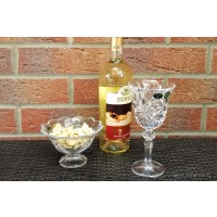 Pahare de vin din cristal de Bohemia - Mirabela - Nr catalog 3208 (Pahare)