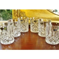 Crystal whisky glasses - Sheffield Collection
