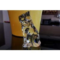 Figurina pisica din cristal de Bohemia - Nr catalog 2975 (Figurine)