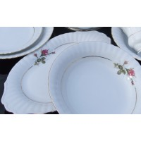 Porcelain table set Rose Collection