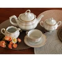Serviciu de ceai 6 persoane - Bolero Jasmine - Nr catalog 2874 (Set Servicii Portelan de cafea)