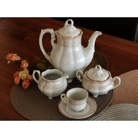 Serviciu de cafea 6 persoane - Bolero Jasmine - Nr catalog 2891 (Set Servicii Portelan de cafea)