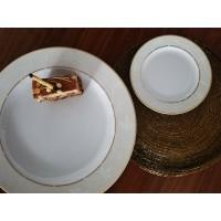 Serviciu de tort 6 persoane - Claire - Nr catalog 2831 (Set Servicii Portelan pentru tort