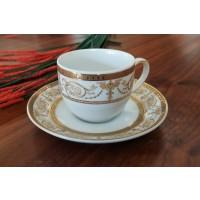 Serviciu de cafea espresso 100 ml - SHARIM GOLD - Nr catalog 2145 (Set Servicii Portelan de cafea)