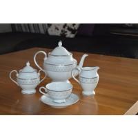 Serviciu de ceai 6 persoane - Marie - Nr catalog 2282 (Set Servicii Portelan de cafea)
