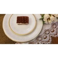 Serviciu de tort 6 persoane - Amelia - Nr catalog 3276 (Set Servicii Portelan pentru tort)