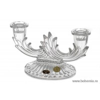 Sfesnic 2 brate din cristal de Bohemia - Nr catalog 1312 (Sfesnice)
