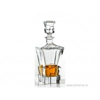 Sticla whisky 900 ml din cristal de Bohemia - Havana - Nr. catalog 1027 (Sticle si carafe)