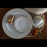 Serviciu pentru mic dejun 6 persoane - Claire - Nr catalog 2832 (Set Servicii Portelan de masa