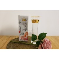 Vaza Bohemia cristalit - Love Gold - Nr catalog 3120 (Vaze)