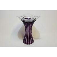 Vaza 25 cm din cristal de Bohemia - Delicia - Nr catalog 2996 (Vaze)