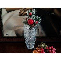 Vaza decorata Bohemia cristalit 20 cm - Miranda Nova 1 - Nr catalog 2717 (Vaze)